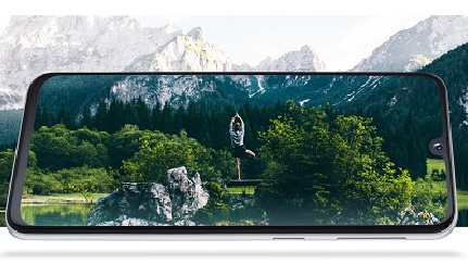 Samsung Galaxy A40 Display and Design