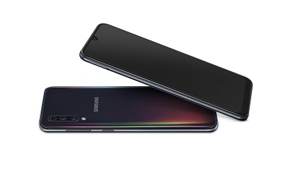 Samsung Galaxy A50 Display and Design