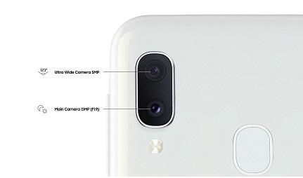 Samsung Galaxy A20e Camera
