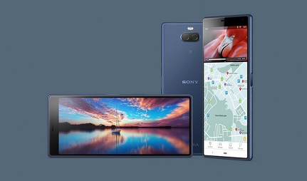 Sony Xperia 10 Display