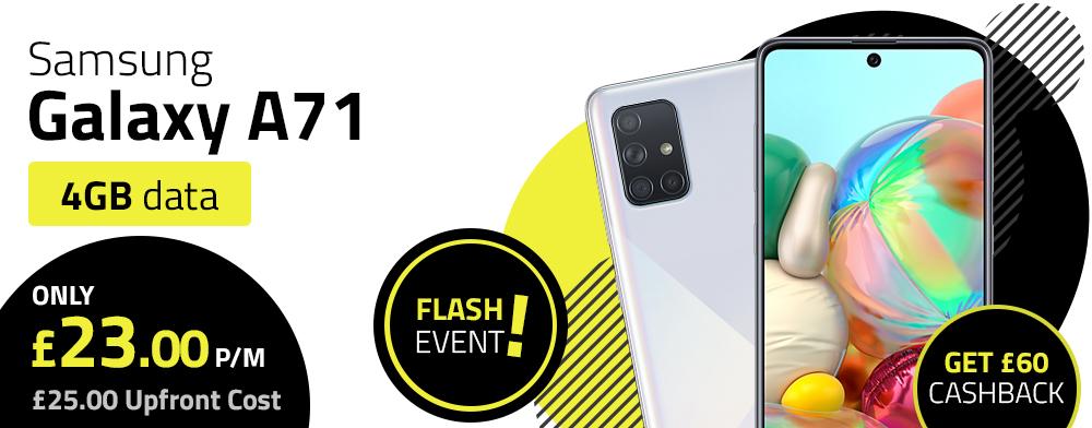 Samsung Galaxy A71 Flash Event