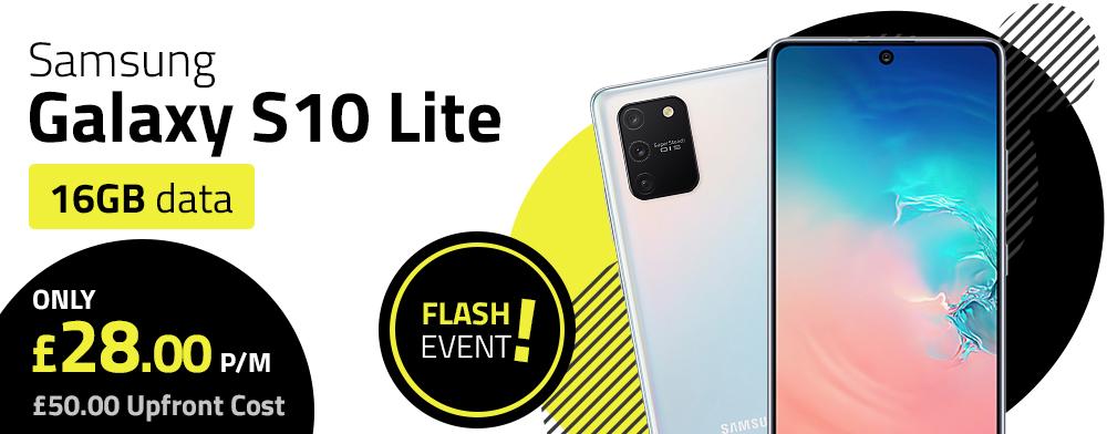 Samsung Galaxy S10 Lite Flash Event