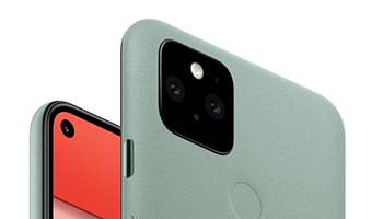 Pixel 5 Design and Display