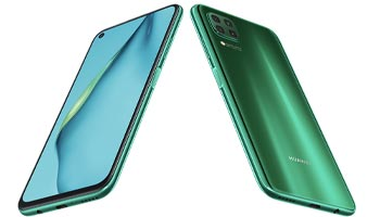 Huawei P40 Lite Design & Display