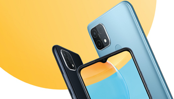 Oppo A15 Design & Display