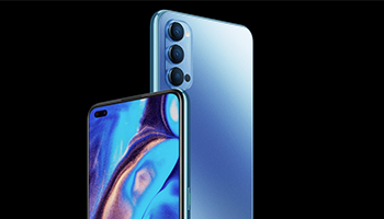 Oppo Reno4 Design and Display