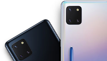 Samsung Galaxy Note 10 Lite Camera
