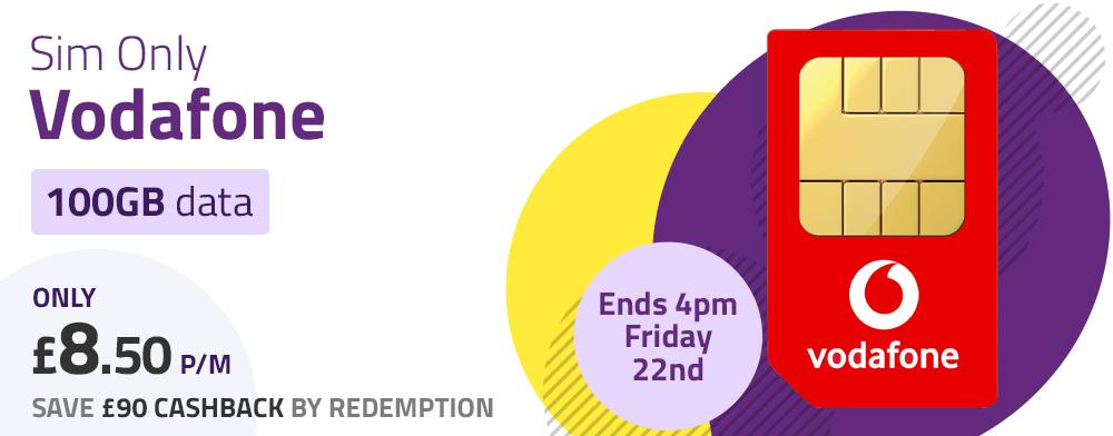 Vodafone Sim Only Deal