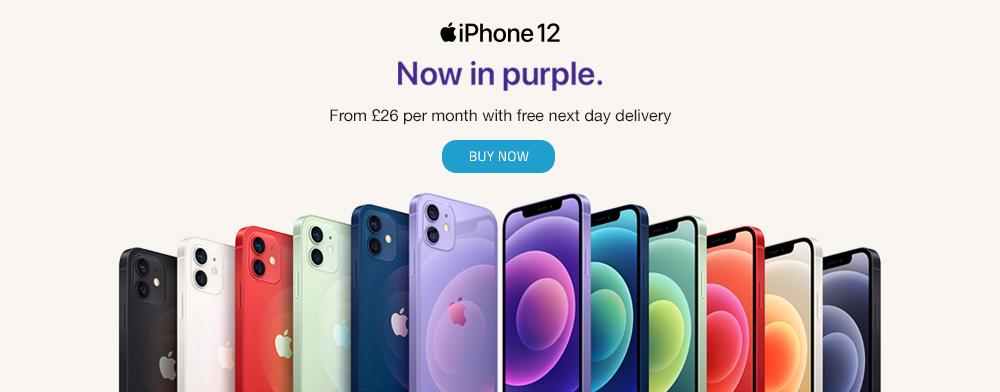 Order Now Apple iPhone 12 Purple
